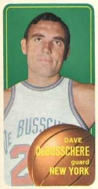 Dave DeBusschere, one of the best defensive players of his era, made life miserable for opposing forwards. See more pictures of basketball.