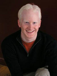 """Dennis Hurley, creator of the satirical film """"The Albino Code,"""" which addresses the way that """"The Da Vinci Code"""" presents people with albinism."""