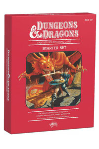 If you're a D&D newbie, a starter kit like this classic Red Box might be an easy way to start playing the game.
