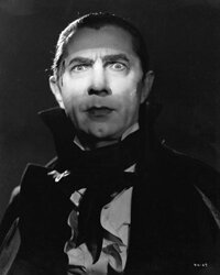 "Lugosi as Count Mora for the MGM film ""Mark of the Vampire"" in 1935, after his stage and film success as Dracula."