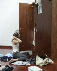 Setting up closets in a functional way can make the process of decluttering much easier.