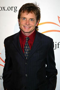 """Actor Michael J. Fox attends """"A Funny Thing Happened On The Way To Cure Parkinson's"""" -- A benefit evening for the Michael J. Fox Foundation for Parkinson's Research."""