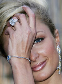Photo courtesy Getty Images                                      Only the very best diamonds will be mounted into extravagant bracelets, earrings and rings like these.