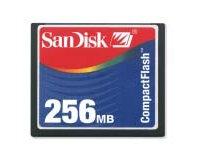 A CompactFlash card