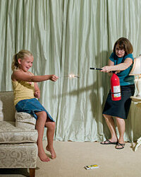 You never know when you'll need a fire extinguisher, so be safe rather than sorry.