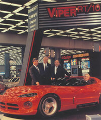 Viper debuted at the 1989 Detroit Auto Show, and was a smash hit.