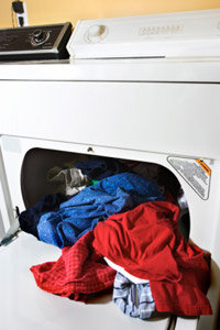 Over time, a lot of lint can clog your dryer vent.