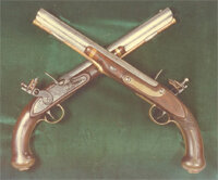 Dueling represents the masculine instinct to compete. See more pictures of guns.