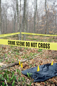 Left exposed to the elements, dead bodies break down very quickly.