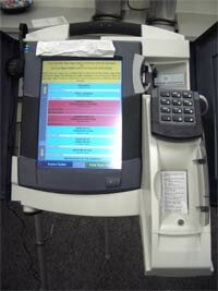 DRE System Touch Screen. See more voting pictures.