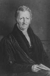 Thomas Malthus theorized that the human species would eventually outgrow our planet.