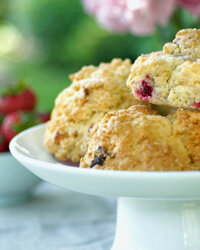 Cranberry scones can jazz up any breakfast.