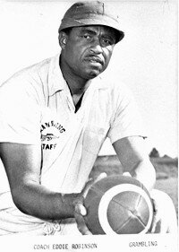 Eddie Robinson sent more than                               200 players into the NFL in                                             his 56 years. See more pictures                                            of famous football players.