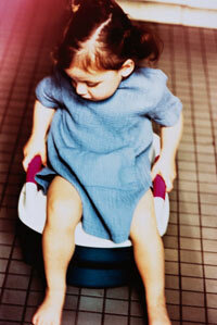 If you use elimination communication, advocates say, your child will be done potty training well before she reaches this age.