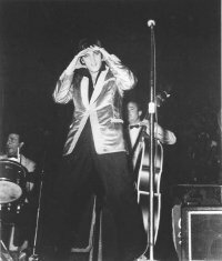 Elvis Presley was always a consummate performer, knowing exactly how to form the bond of connection with his audience. See more  Elvis pictures.