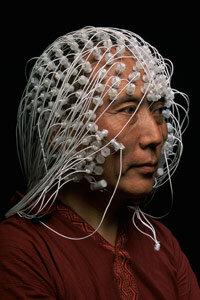 Some electroencephalograph tests involve wearing hundreds of electrodes.