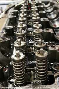 Image Gallery: Engines Pistons in truck engine. See more pictures of engines.