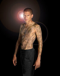 "Michael Scofield (Wentworth Miller) in ""Prison Break."""