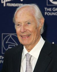George Martin worked as executive producer on many of the Beatles' albums.