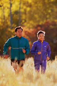 Physical activity lowers blood pressure and triglyceride levels. See more heart health pictures.
