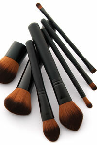 Save those fat brushes for your cheeks and powder. When applying eye makeup, you'll want smaller tools for precision.