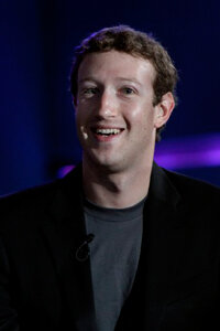 Facebook founder and CEO Mark Zuckerberg at the Education Nation summit on Sept. 27, 2010.