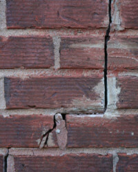 A cracked foundation can make your house impossible to live in.