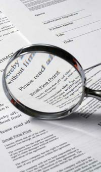 Fees often pop up in the fine print of numerous agreements homebuyers sign.