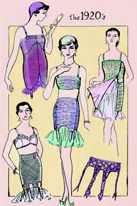 Flappers changed fashion from the inside out.