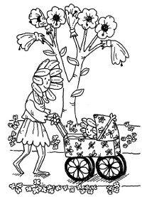 Write a fun flower story!