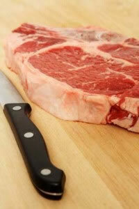 Follow basic safety guidelines when handling raw meat or poultry.