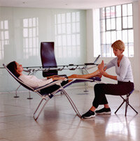 Reflexology splits the body into zones. Those zones correspond to specific areas of the foot.