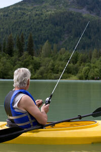Foot-powered kayaks promise to free fishermen from their oars.