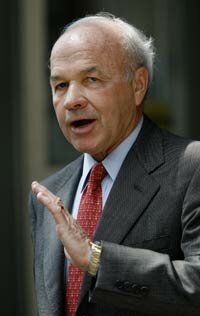 Former Chairman Kenneth Lay of Enron was charged with bank fraud related to the collapse of the corporation.