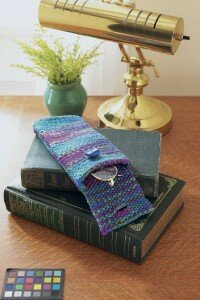 Bright stripes will help make sure that you can always find your new eyeglass case.