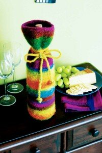 Make sure that your gift of wine is remembered with this wine sack.