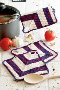 These pot holders are classic pieces of Americana that won't go out of style.