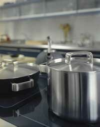Induction stovetops like this one are up to 50 percent more energy-efficient than gas and electric ones.