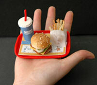 Gastric bypass patients must learn to eat much smaller portions.