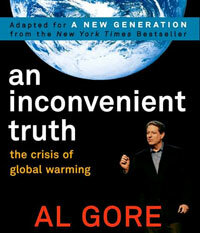 "Al Gore's book and documentary ""An Inconvenient Truth"" got a lot of people talking about global warming."