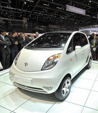 The Tata Nano uses automotive adhesives to attach body panels -- and to reduce weight.