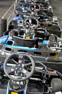 You can find three distinct types of karts in competition: sprint, enduro and oval.