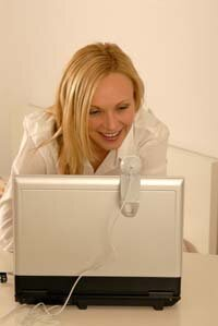 With Google Talk, users can use a Webcam to take a picture of themselves and post on their contact list.