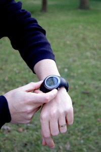 GPS watches built for runners, golfers and other sports enthusiasts who value lightweight gear are barely (if at all) larger than fashion watches these days.