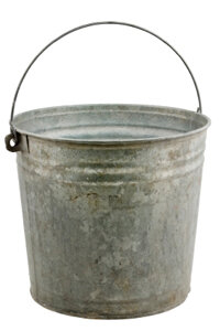 Gray water reclamation doesn't have to be difficult. It can be as easy as taking a bucket with you into the shower.