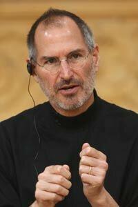 Steve Jobs, co-founder of Apple and pioneer hacker