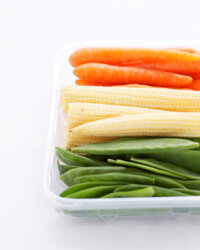 Legumes like those green beans contain complex carbohydrates that provide lasting energy and combat chronic fatigue.