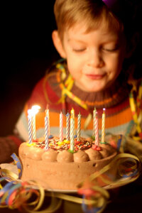 What exactly do you remember from your eighth birthday party?