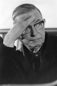 French philosopher John Paul Sartre.