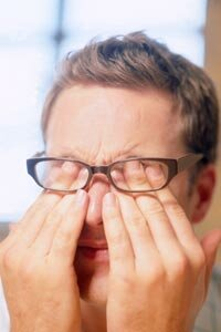 The intense pain behind your eye? That's a cluster headache.